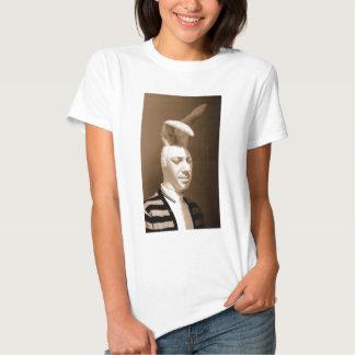 Design engraçado do playboy do vintage camisetas