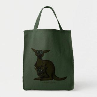Design engraçado do saco do canguru bolsa