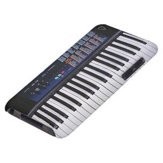 Design engraçado do teclado capa para iPod touch