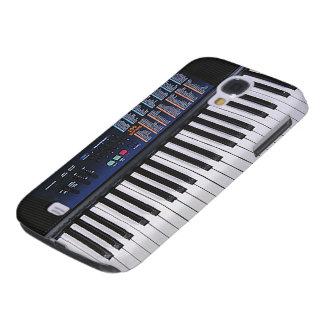Design engraçado do teclado galaxy s4 cases