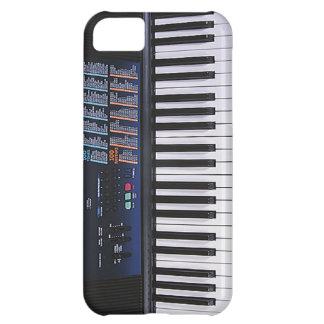 Design engraçado do teclado capa para iPhone 5C