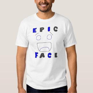 Design épico dois da cara tshirts