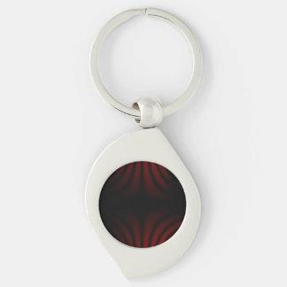 Design escuro #1 chaveiro espiral cor prata