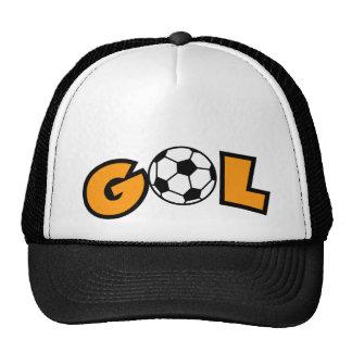 Design especial do vetor da bola de GOL Boné