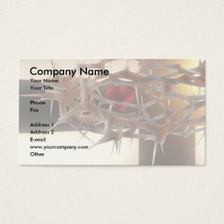 Design espiritual cartão de visitas