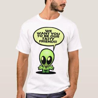 Design estrangeiro arborizado da camiseta