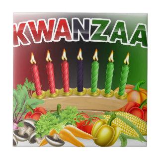 Design feliz da colheita de Kwanzaa primeiro