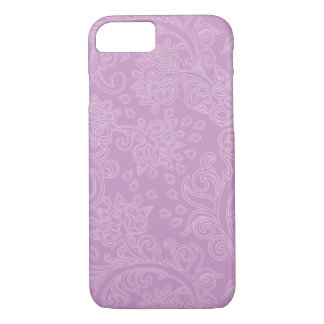Design feminino cor-de-rosa de Boho Capa iPhone 7