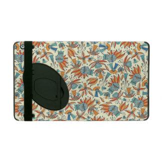 Design floral abstrato do teste padrão capa iPad