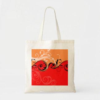 Design floral de Swirly Bolsas