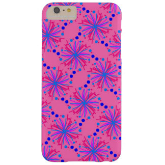 Design floral decorativo capas iPhone 6 plus barely there