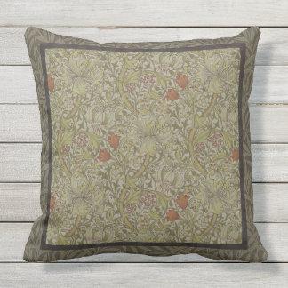 Design floral do impressão da arte do salgueiro do almofada para ambientes externos