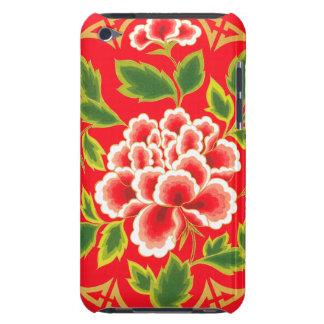 Design floral do vintage capa para iPod touch
