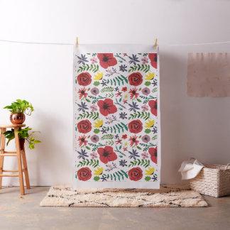 Design floral do Watercolour Tecido
