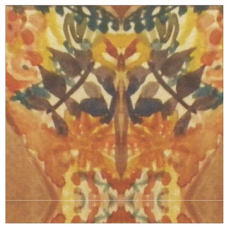 Design frondoso da videira tecido