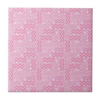 Design Funky de Memphis do rosa Pastel