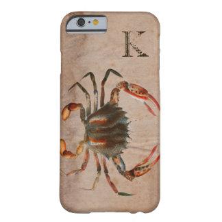 Design gasto do caranguejo de Bue Capa Barely There Para iPhone 6
