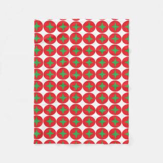 design geral da morango cobertor de lã