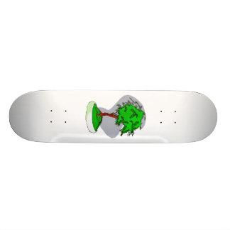 Design gráfico da imagem dos bonsais novos eretos skates