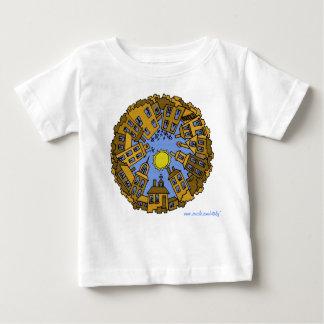 Design gráfico urbano legal do t-shirt do bebê da