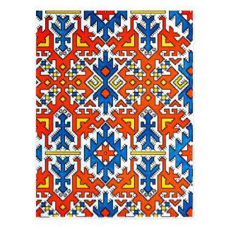 Design húngaro cartão postal