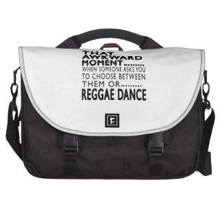 Design inábil dessa reggae do momento maleta para notebook