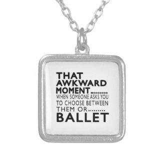 Design inábil desse balé do momento bijuterias personalizadas