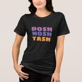 design inglês da camisa do tash do nosh do dosh