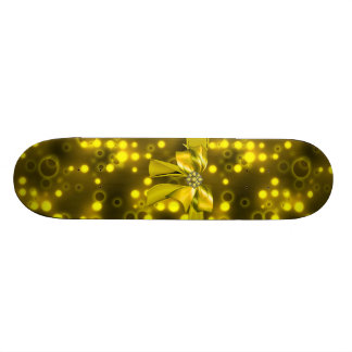 design jeweled encanto do skate do falso