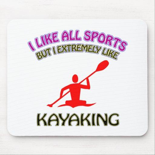 Design Kayaking Mousepad
