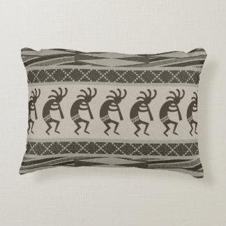 Design Kokopelli de dança tribal do sudoeste Almofada Decorativa