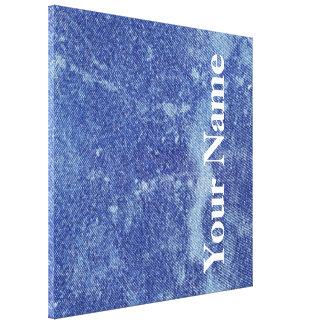 Design lavado #12 da sarja de Nimes em Emporio Impressão Em Tela