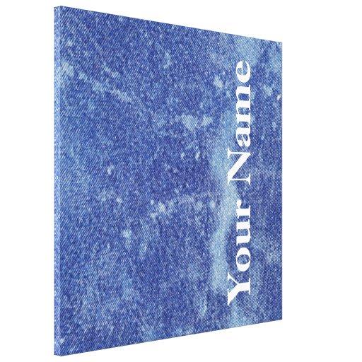 Design lavado #12 da sarja de Nimes em Emporio Mof Impressão Em Tela Canvas