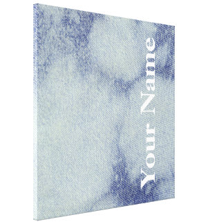 Design lavado #1 da sarja de Nimes em Emporio Moff Impressão Em Tela
