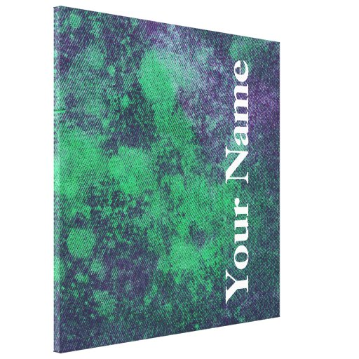 Design lavado #2 da sarja de Nimes em Emporio Moff Impressão Em Tela Canvas