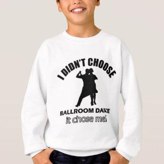 Design legal da dança de salão de baile tshirts
