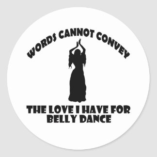 Design legal da dança do ventre adesivo