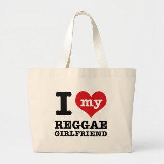 Design legal da reggae bolsas para compras