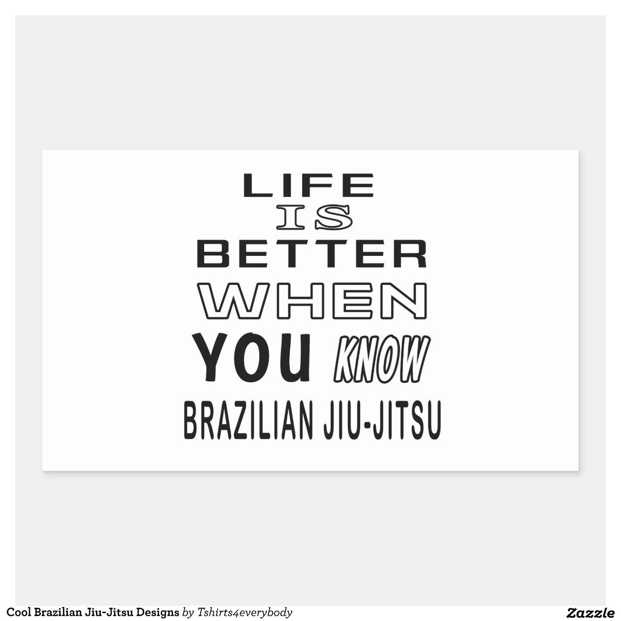 Artesanato Russo Em Sp ~ Design legal de Jiu Jitsu do brasileiro Adesivo Retangular Zazzle