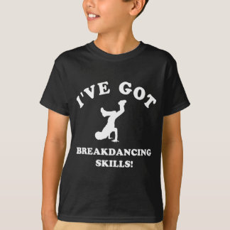 design legal do breakdance camiseta
