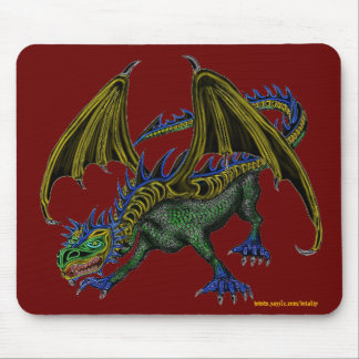 Design legal do mousepad do dragão
