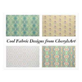 Design legal do tecido dos cartão de CherylsArt