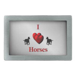 Design legal dos cavalos do coração de I