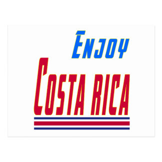 Design legal para Costa Rica Cartão Postal