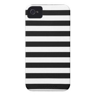 Design listrado | preto e branco da listra capinha iPhone 4
