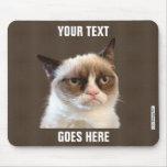 Design mal-humorado de Cat™ seu próprio Mousepad