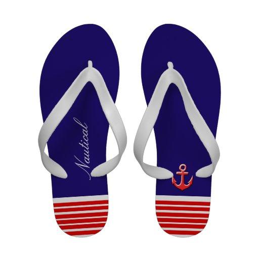 design marinho sandálias de dedo