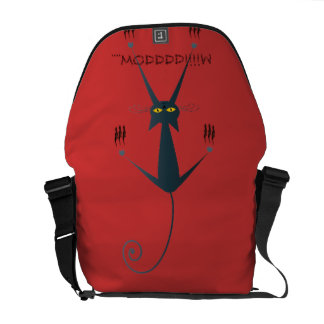 design mau do gato bolsas mensageiro