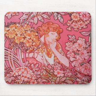 Design Mousepad de Nouveau da arte