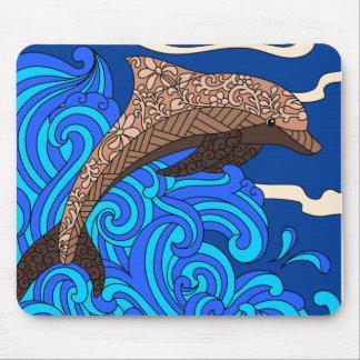 Design Mousepad do golfinho